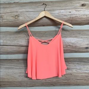 Olivaceous tank top